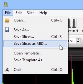 Slice to MIDI