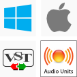 Cross Platform Compatibility - Windows, Mac OS X, VST, and Audio Units